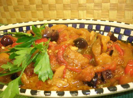Peperoni al gratin alla napoletana