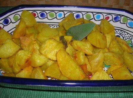 Patate al forno con aromi