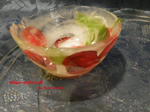 Una coppetta di ghiaccio per i vostri antipasti freddi