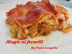 La lasagna napoletana con pasta fatta in casa