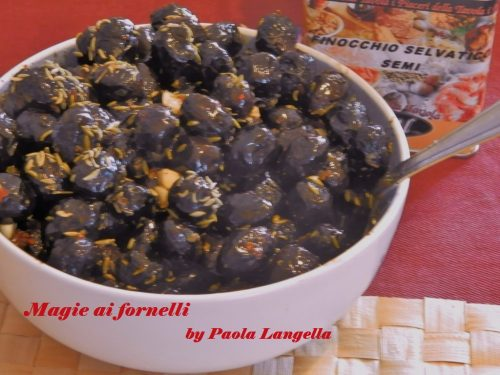 Olive ferrandine condite