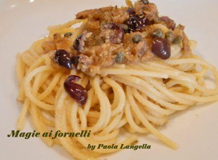 Vermicelli con acciughe alla siciliana