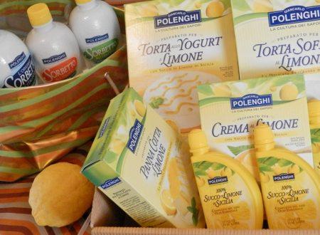 La linea Polenghi al limone di Sicilia