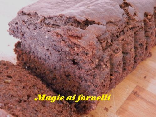 Plum cake alla nutella (senza burro )