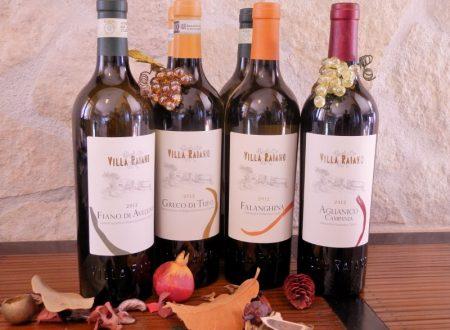 """I pregiati vini """"Villa Raiano"""""""