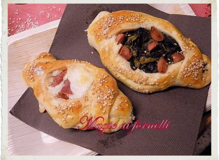 Brioches salate ripiene