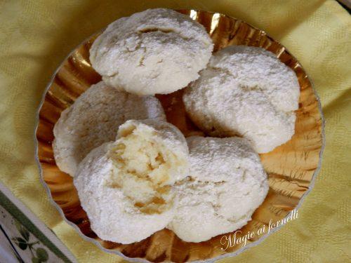 Biscotti pasticcino al limone