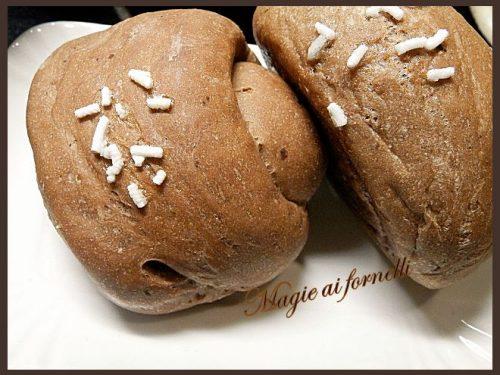 Panini semidolci al cacao