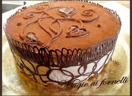 Torta semifreddo a strati