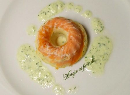 Sformatini al salmone e brandy