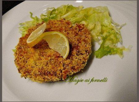 Hamburger di tonno in panatura di erbe