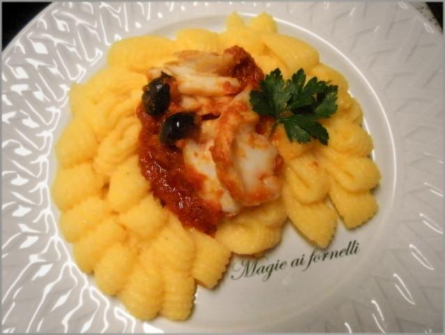 polenta con baccalà