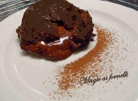 Tortino di cioccolato cuore morbido