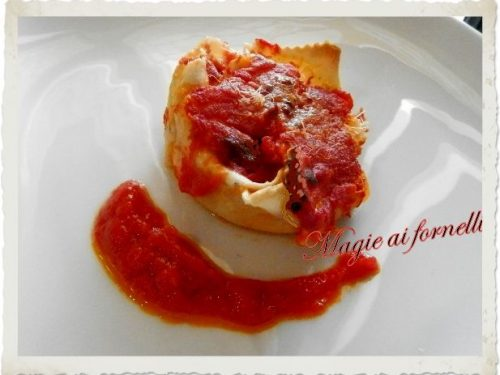 Lasagne monoporzione vegetariane