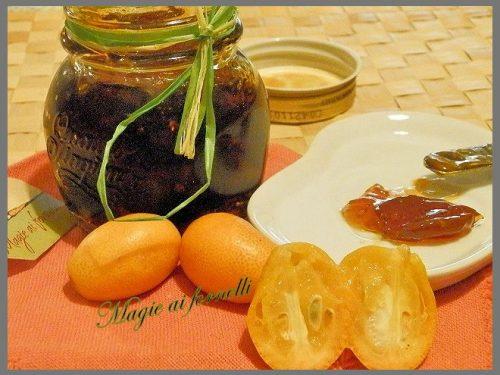 Marmellata di Kumquait (Mandarini cinesi )