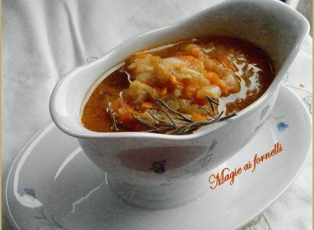 La salsa finta Genovese