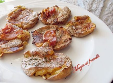 smashed potatoes (con buccia )