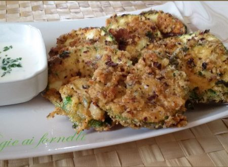 Zucchine fritte al parmigiano e salsa di yogurt