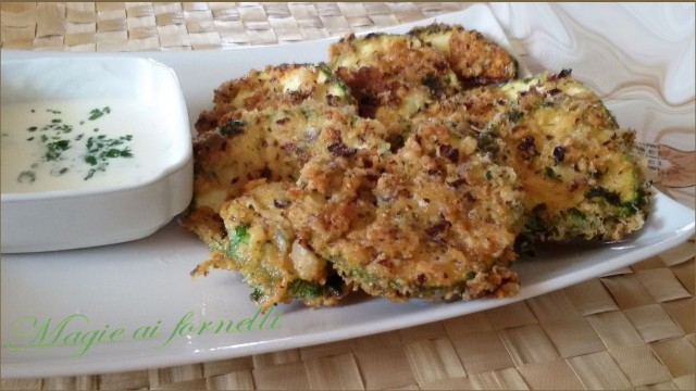 zucchine fritte al parmigiano