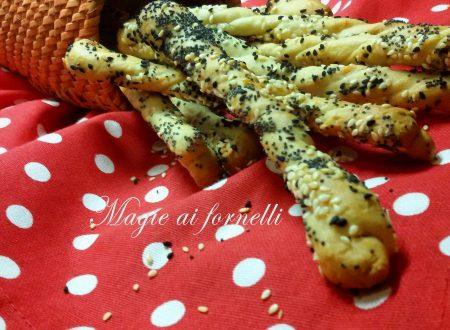 Grissini al parmigiano con farina di farro
