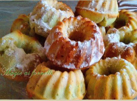 Ciambelline pistacchio e nocciola