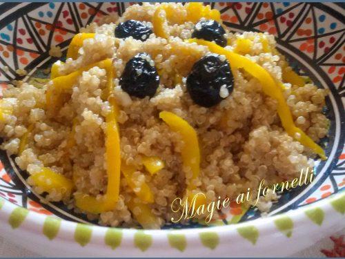 Quinoa al curry e peperoni