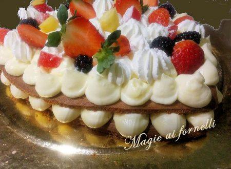 Cream Tart – Sablè alle mandorle e diplomatica al limone: Una magica crostata
