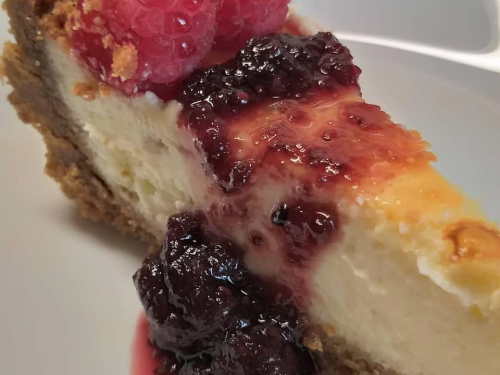 New York Cheesecake (cotta al forno)